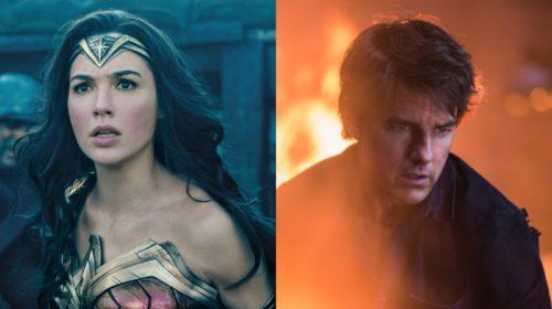 Box Office Update of The Mummy and Wonder women.