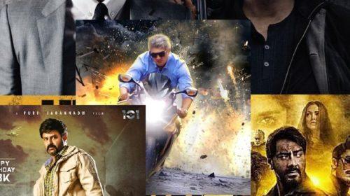 Box Office Update of Hitman's BodyGuard , Baadshaho , Paisa Vasool,and Vivegam