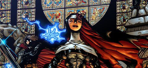 Ben Dunn to make Warrior Nun for Netflix.