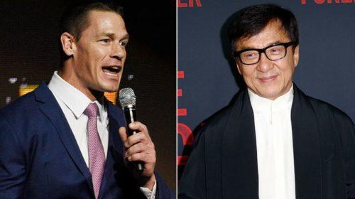 WWE's John Cena teams up with Kung Fu legend Jackie Chan